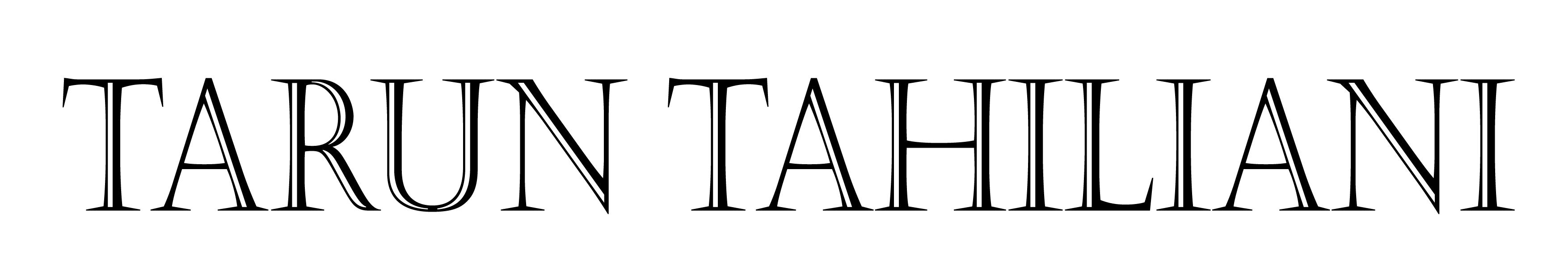 tarun tahiliani client
