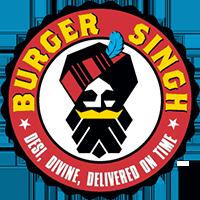 burger singh restaurant logo